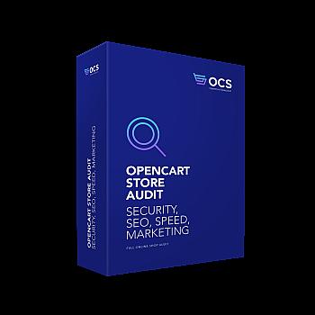 OpenCart Webshop Audit